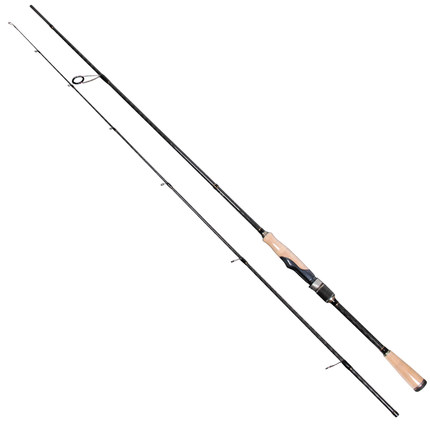 Trulinoya 2.1M M power F Action Spinning Fishing Rod with FUJI Ring Reel Canne Spinning in Carbon Material PRO FLEX II S702M купить