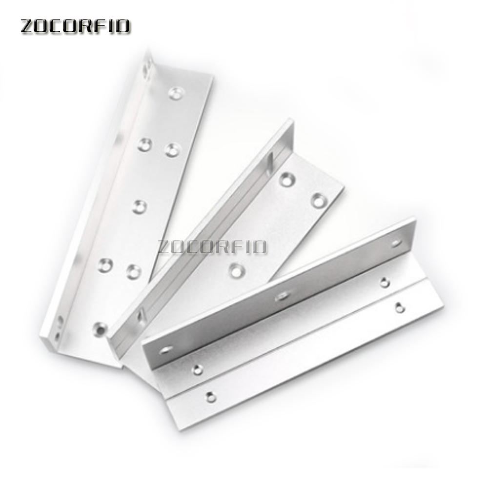 Aluminium alloy ZL Bracket 180KG Magnetic Lock With High Quality 180KG ZL holder for Magnetic locker easy using zl bracket for 180kg holding force electric magnetic lock l