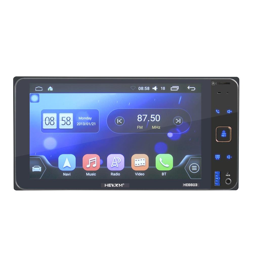 HEVXM 6603 Android 7 pouce voiture GPS navigation MP5 lecteur pour Toyota Universel Navigation Système FM Radio Lecteur MP3