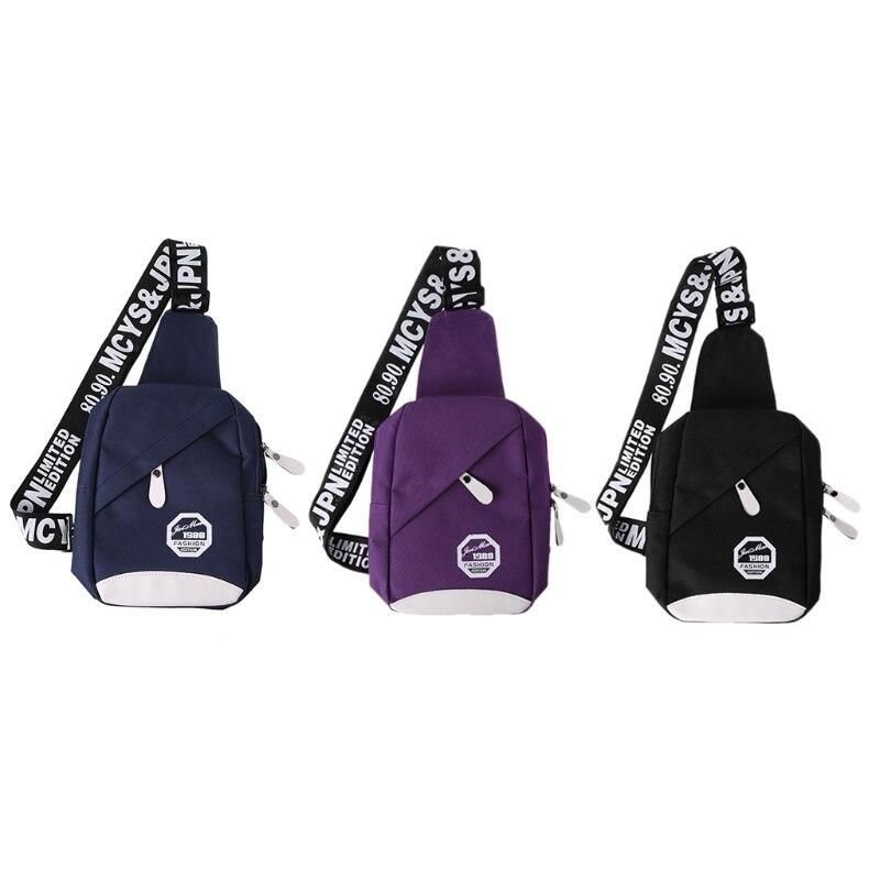 1 шт. Для мужчин Для женщин Путешествия Пеший Туризм слинг груди пакет рюкзак плечо спортивная сумка слинг