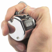 Спорт Бег цифровой счетчик кликер портативный дисплей Ручной цифровой счетчик с металлическим коленом reloj conador de horas