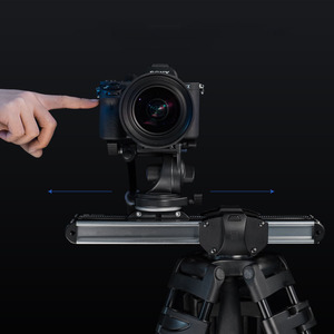 Image 4 - Micro 2 Kamera Slider Track Dolly Slider Schiene System Professional Tragbare Mini Reise Video Slider Für DSLR BMCC ROT ARRI mini