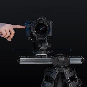 Image 4 - Mini sistema deslizante para câmera, micro controle deslizante e micro câmera portátil para trilho profissional, arri de vídeo para viagem para dslr bmcc mini mini rede de proteção para carro