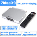 Free Shipping ZIDOO X9 Android TV BOX MSTAR MSO9180D1R 2GB/8GB 802.11n WIFI 7.1 Bluetooth 4K H.265 USB3.0 with Airmouse as Gift