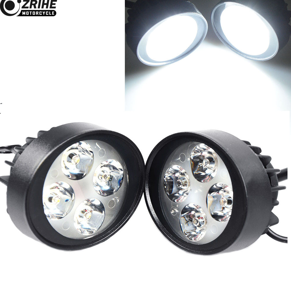 1 Pair Rear 149v Turn Signal White Led Light For Suzuki Satria F150 All New 2015 2016 Harley Fxdxi Dyna Super Glide Sport 2004 2005 In Covers Ornamental Mouldings