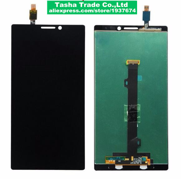 For Lenovo VIBE Z2 Pro K920 LCD Display with touch Screen digitizer Assembly сотовый телефон lenovo vibe z2 titanium grey