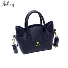 1eb58a2b7c (Ship from US) Aelicy pu leather women cat face shoulder bags 2019 new  design fake designer handbags crossbody bags for women soft day clutches