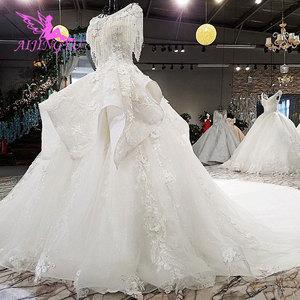 Image 4 - AIJINGYU متجر على الانترنت الزفاف فساتين الزفاف الفساتين الملابس جديد مع سعر القوطية الكرة مرحبا منخفضة ثوب فيتنام الزفاف اللباس
