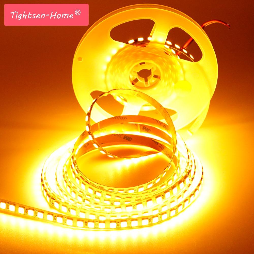 5 m LED Bande SMD 5054 600 LED 120 led/m Bande Flexible Lumière DC12V plus lumineux que 5050 2835 5630 blanc Froid/glace bleu/Rose/Rouge