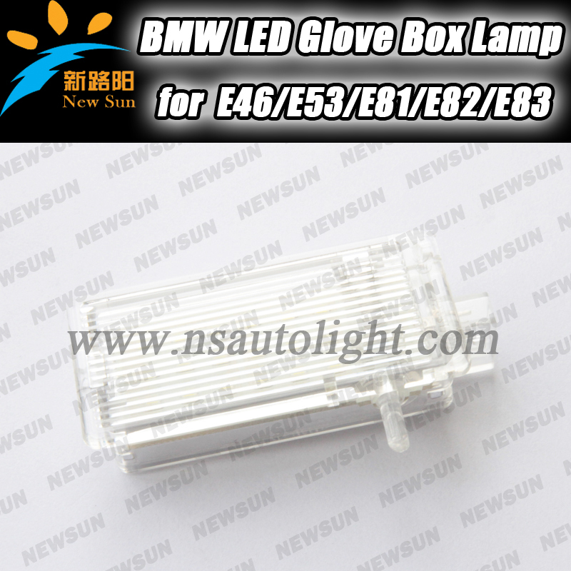 LED Compartment Glove box Light lamps for BMW E46 E53 E81 E82 E83 E84 E87 error