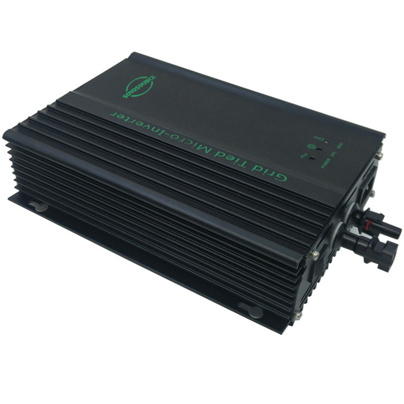 600w Grid Tie inverter high quality  PV-Voc input 26V-45V solar inverter dc to ac 120V or AC220V 50HZ or 60Hz For 24V battery new grid tie mppt solar power inverter 1000w 1000gtil2 lcd converter dc input to ac output dc 22 45v or 45 90v