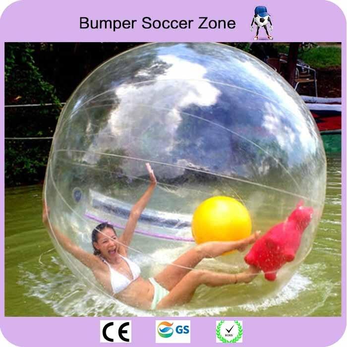 Бесплатная доставка ходить по воде мяч Водные виды спорта шар гигант Воды Мяч Zorb баллон Надувные людской воды Футбол