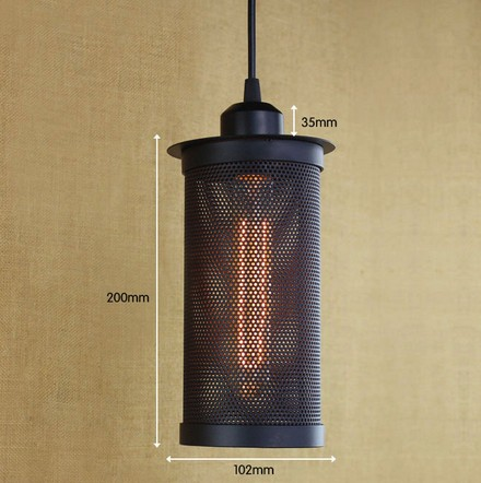 Nordic Loft Iron Net Retro Droplight Edison Industrial Vintage Pendant Light Fixtures For Living Dining Room RH Hanging Lamp retro loft style iron droplight edison industrial vintage pendant light fixtures dining room hanging lamp indoor lighting