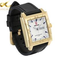 Lancardo Mens Watches Top Brand Luxury Famous Quartz Watch Men Wristwatches Male Clock Watch Quartz Watch