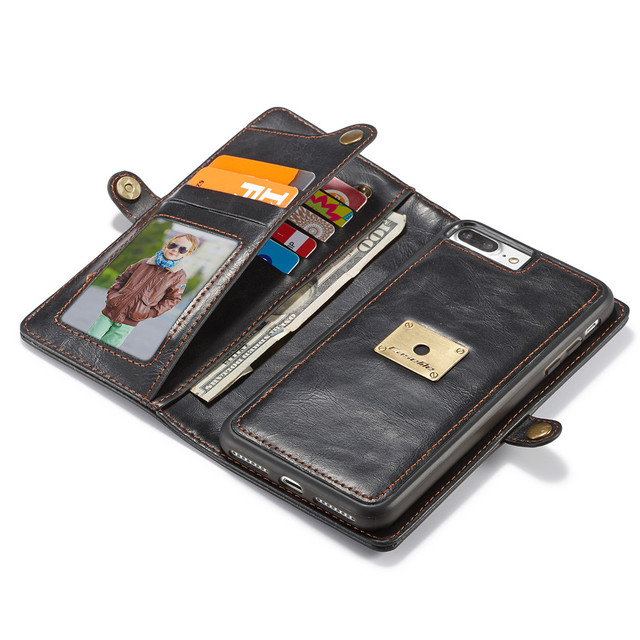 best magnetic leather case for iphone 7 for business man with many card holder wallet phone - Best Card Holder Wallet