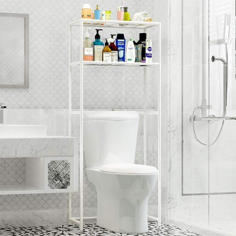 Comprar Estantes baño estante de almacenamiento de acero inoxidable tipo de  piso Simple montaje se puede quitar mover lavadora estante muebles Online  ... 7eb0f4fbd8c1