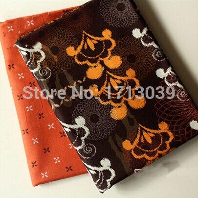 ENVÍO de la Nueva 2 unids 150x50 cm mezclado tejido de algodón para coser tecido