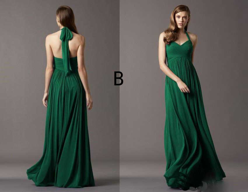 Sweetheart Chiffon Ruffle Emerald Green Bridesmaid Dresses Cheap Vestido De  Festa Longo Azul Turquesa Vestidos Longos-in Bridesmaid Dresses from  Weddings ... 5d41c4f1dd0d