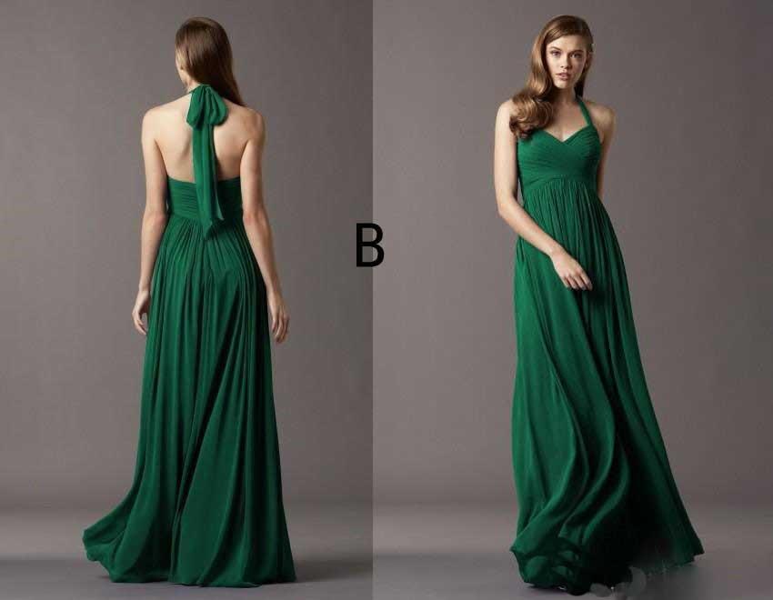 eda59a011560 Sweetheart ruffle chiffon verde smeraldo abiti da damigella d onore vestido  de festa longo azul turquesa vestidos longos in Sweetheart ruffle chiffon  verde ...