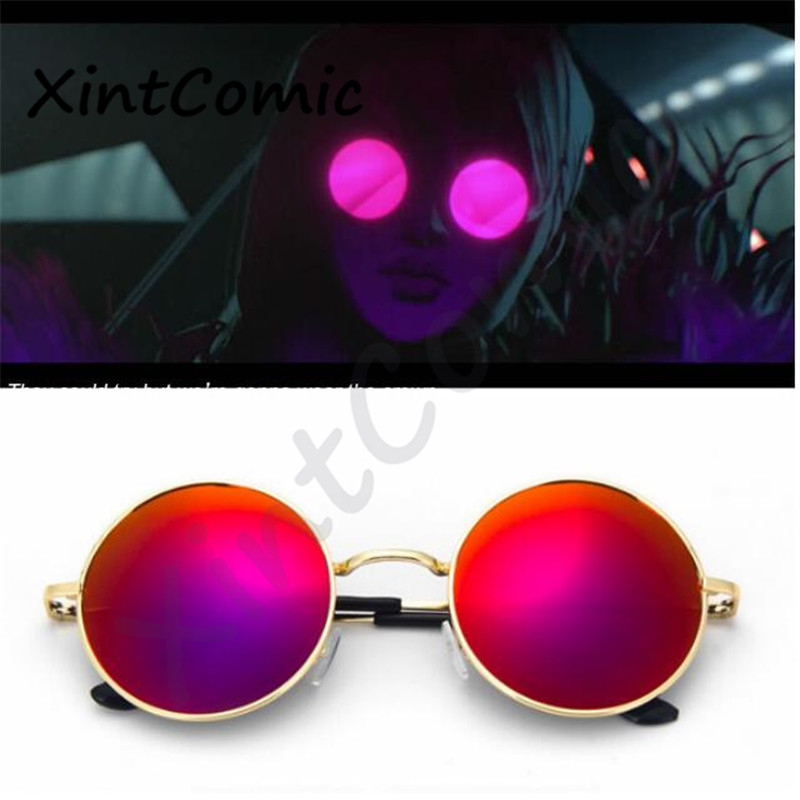 Agony's Embrace KDA Evelynn Glasses Cosplay Costumes Eyswrar Props Idol Singer Sunglasses
