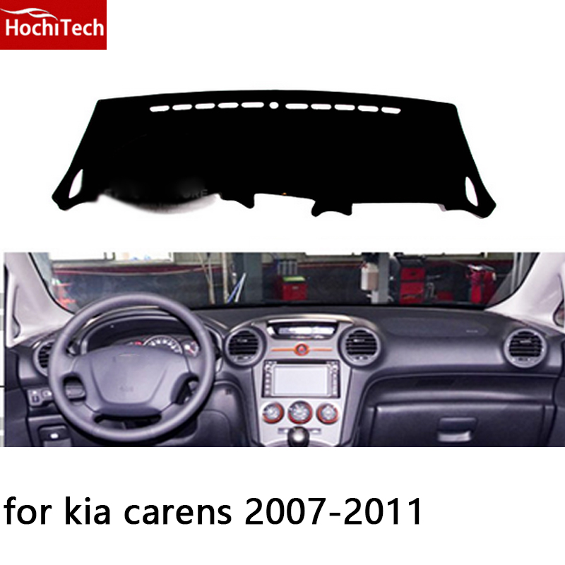 HochiTech for kia carens 2007-2011 dashboard mat Protective pad Shade Cushion Photophobism Pad car styling accessories