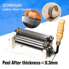 6″ inch Manual leather skiver,handle leather peel tools,DIY shovel skin Machine,leather splitter,vegetable tanned leather peeler