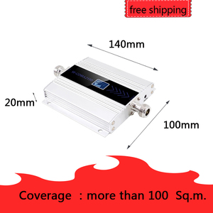 Image 4 - להקת 1 3G Ripetitore 2100MHz מהדר LCD WCDMA 2100 MHZ נייד אות מגבר אות בוסטרים/מגבר נייד טלפון מגבר