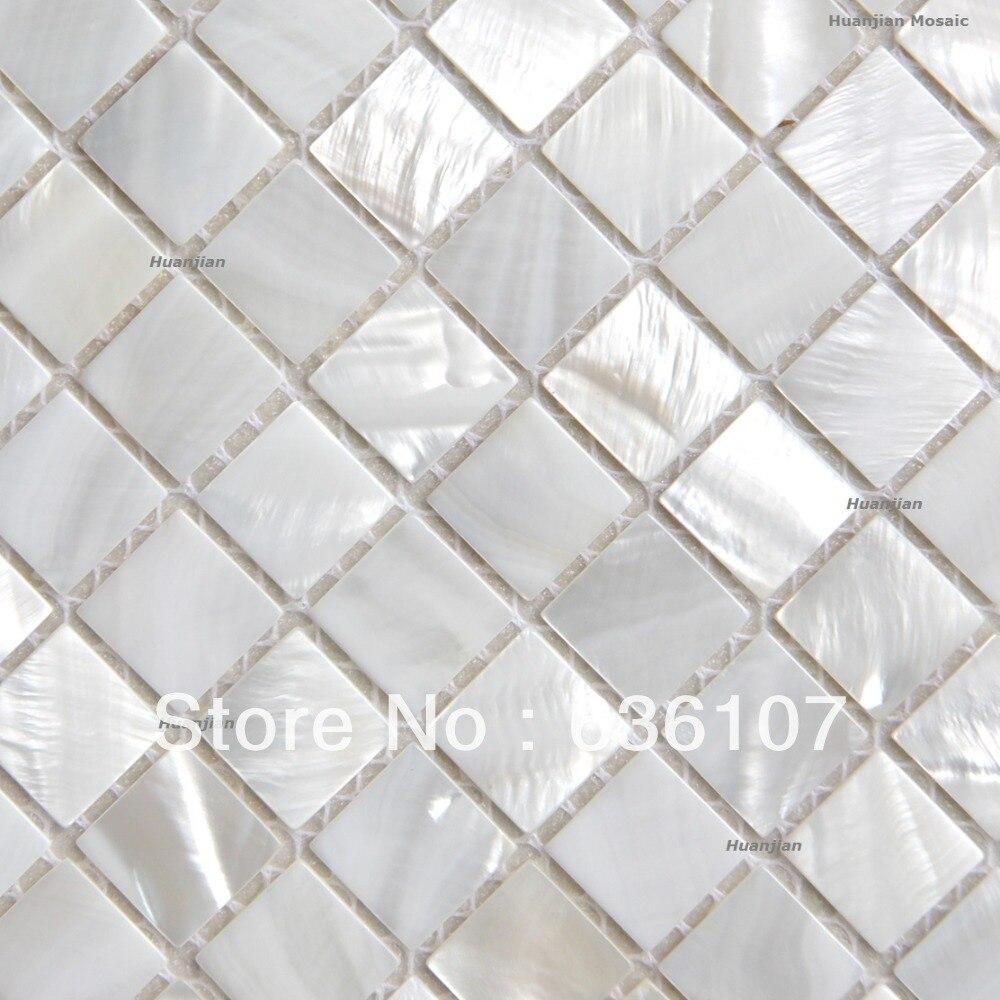 White Shower Tile Sample