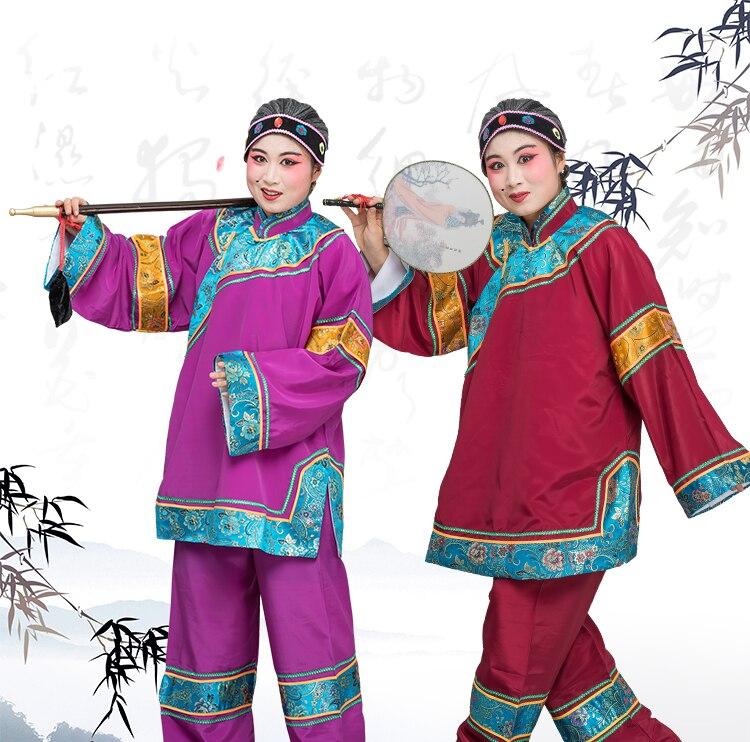 Costumes d'opéra chinois costume femme allumette vêtements mamie pantaloon habituellement du type vicieux laid allumette costumes