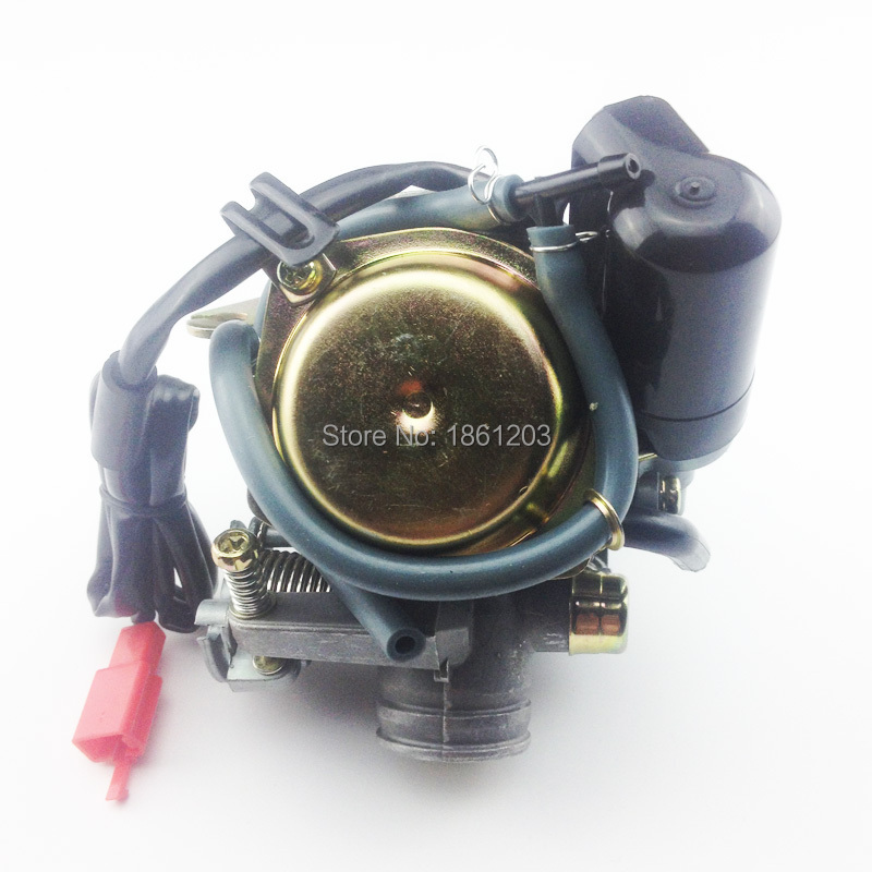 Fast Shipping Size 24mm Big Bore Carb CVK Keihin Carburetor for Chinese GY6 125cc 150cc motorcycle parts scooter Moped ATV ship from germany 150cc gy6 scooter atv go kart engine motor carburetor cvt auto carb complete