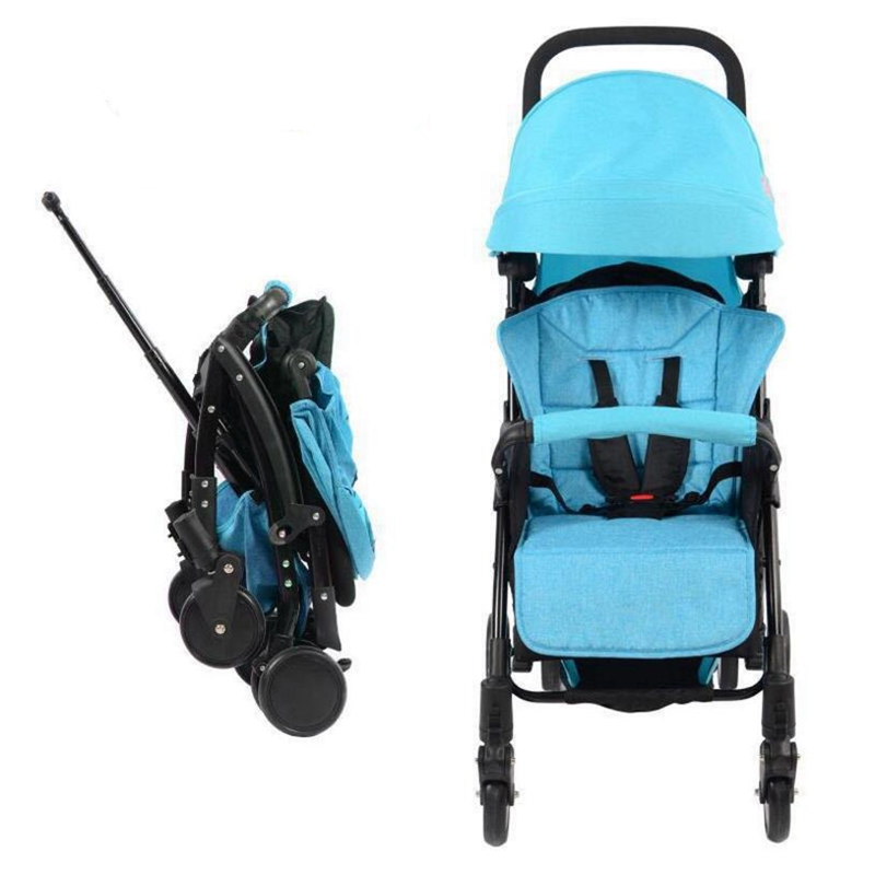 New special baby stroller ultra light shock absorption folding portable can sit child baby child child simple mini umbrella free baby stroller ultra light portable shock absorbers bb child summer baby hadnd car umbrella
