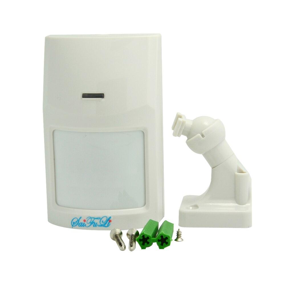 1 Pcs Wall Mounted Wired Indoor Pir Alarm Motion Sensor
