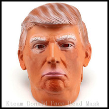 Hot!!America New President Donald Trump Costume Mask Presidential Republican Primary Rallies Halloween Party Cosplay Human Mask