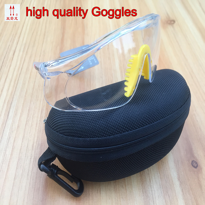цена на 2097E protective glasses high quality Transparent safety goggles Anti-fog Anti-shock Wind and dust Ride outdoor airsoft glasses