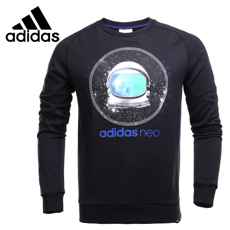 Original New Arrival  Adidas NEO Label Men's Pullover Jerseys Sportswear original new arrival official adidas neo men s breathable o neck pullover jerseys sportswear