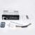 Bluetooth MP3 Del Coche De Radio Audio Estéreo En El Tablero de FM Receptor Remoto de Tarjeta SD Disco USB de Entrada Aux Manos Libres llamadas Autoradio