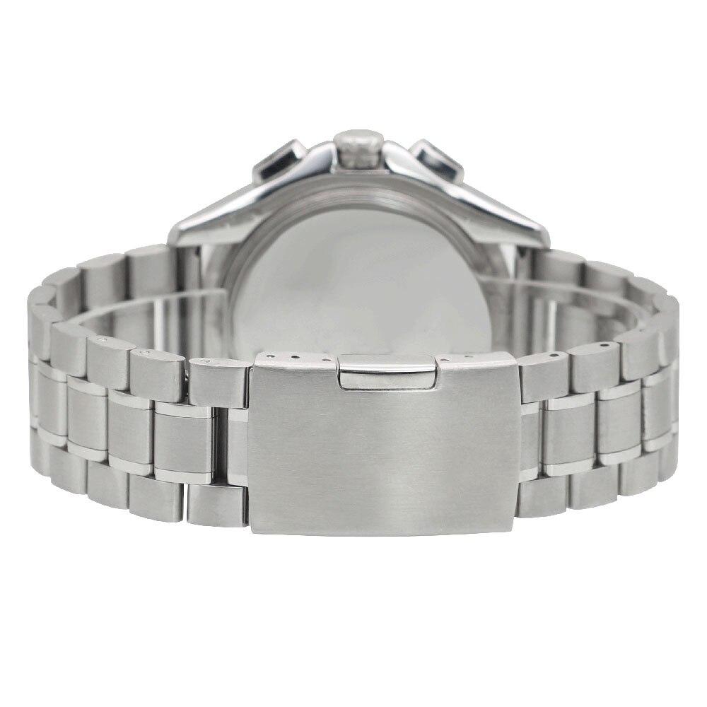 ZLIMSN rostfritt stål klockband 18mm 20mm 22mm 24mm 26mm svart - Tillbehör klockor - Foto 5
