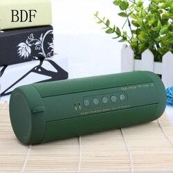 BDF Original T2 Drahtlose Bluetooth Lautsprecher Wasserdichte Portable Outdoor Mini Lautsprecher Spalte Lautsprecher Unterstützung TF karte FM Boombox