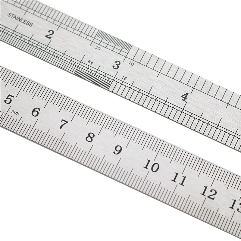 High Quality Measuring Tools Precision Ruler 15cm Professional Straightedge Office Prevent Corrosion Scale Metal Stainless Steel