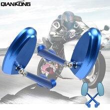 CNC Aluminum Motorcycle accessories Rearview Mirror Motobike side For z800 z750 tmax 530 ktm duke 125 390