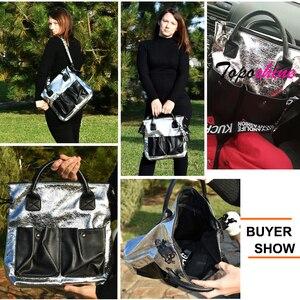 Image 5 - Topashine Bolso de gran capacidad para mujer, bolsa de compras de moda, dos bolsillos, informal, 2019