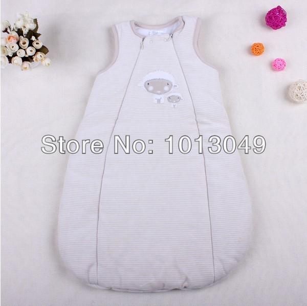 Qualidade superior Do Bebê Do algodão recém-nascidos de veludo sacos de dormir infantis, Roupas de Bebê Frete Grátis, Nova chegada Do Bebê Acessórios