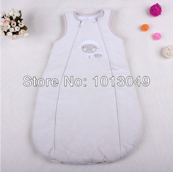 Top Quality Baby cotton velvet newborn infant sleeping bags,Free Shipping Baby Clothes,New arrival Baby Accessories