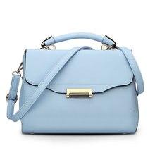 Famous Brand 2017 Hot sale Fresh Women Satchels Bags Woman Pu Leather Tote Handbags Ladies Female