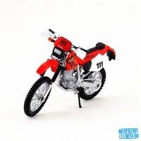 1PC 12 5cm 1 18 HONDA Motorcycle XR400R Simulation Model Gift