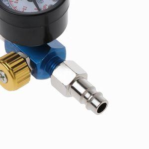 Image 4 - Air Pressure Regulator Gauge Spray Gun In Line Water Oil Trap Filter Separator Kit Tools