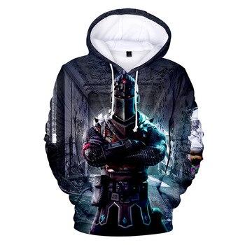 Hot Game Battle Royale 3D Cosplay Hoodies Long Sleeves Hooded Sweatshirt for Men Women