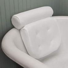 US Luxury Home Bath Pillow Deep Cushion Non Slip Luxury Bathtub Neck Support