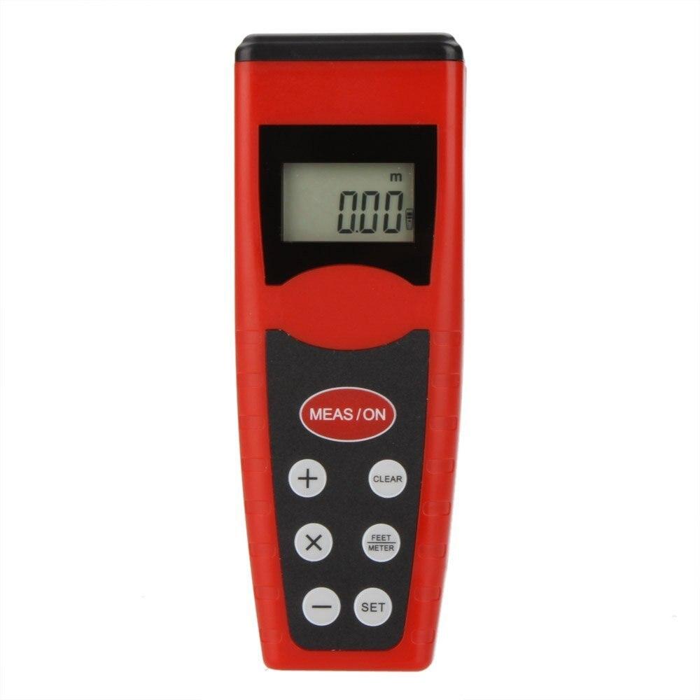 LHLL-Handheld CP -3000 ultrasonic rangefinders surveyor Odometer w / Laser Point & LCD backlight