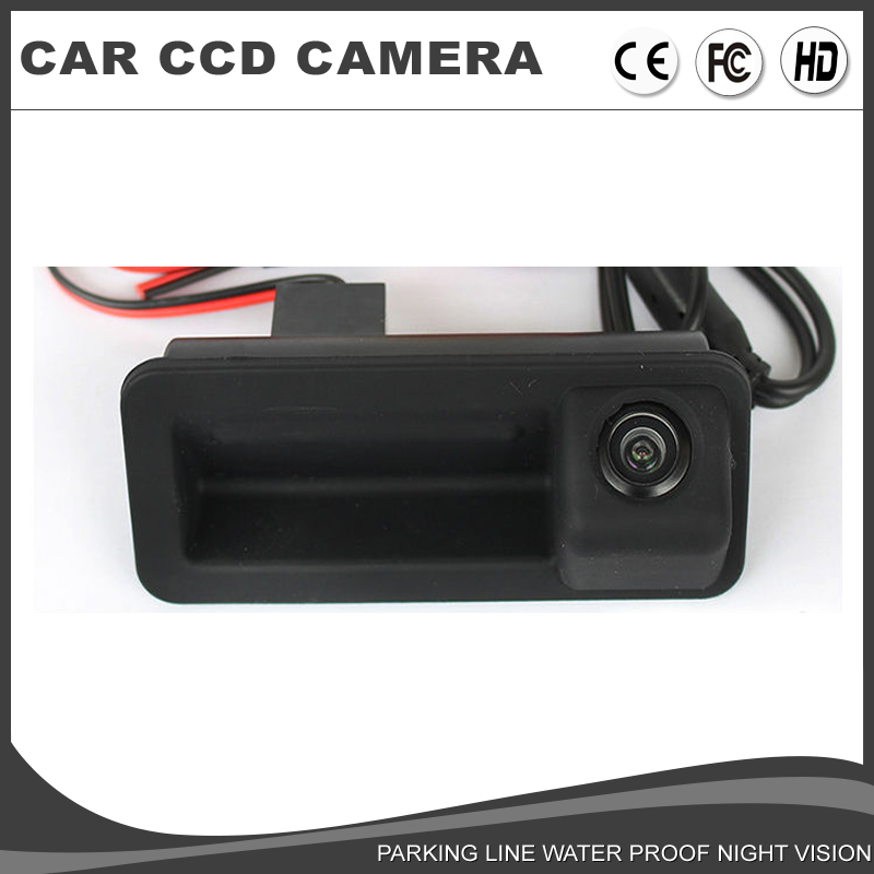 Car Handle Rear View Camera HD Kit For FORD FOCUS 2 2C 3C MONDEO Fiesta S-Max